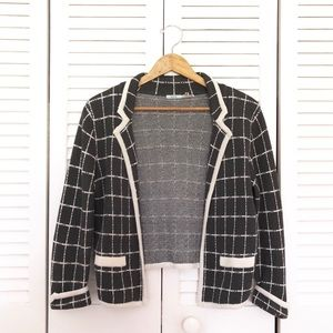 Urban Outfitters Kimchi Blue Gray Sweater Blazer